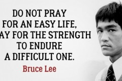 Strengthen Spirit: Follow Bruce Lee Principles.