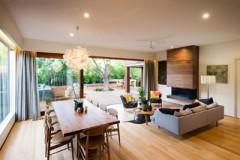 Fire Place Contemporary Living Room Melbourne Design